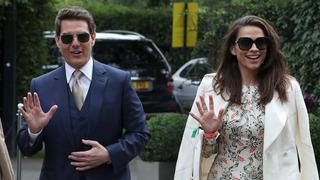 Herec Tom Cruise a expartnerka Hayley