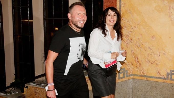 Jan Tuna a Nela Boudová na premiéře filmu Cesta domů