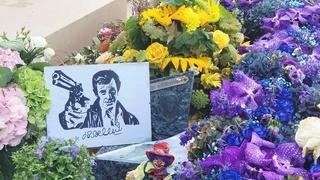 Hrob Jean-Paul Belmonda v Paříži