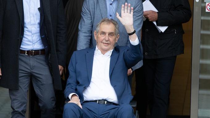 Prezident Miloš Zeman je nemocný
