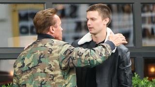 Patrick Schwarzenegger s otcem Arnoldem