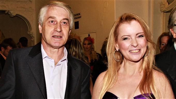 Josef Rychtář a zesnulá zpěvačka Iveta Bartošová