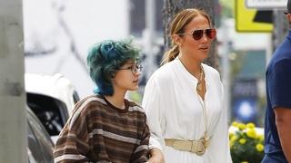 Jennifer Lopezová s dcerou Emmou