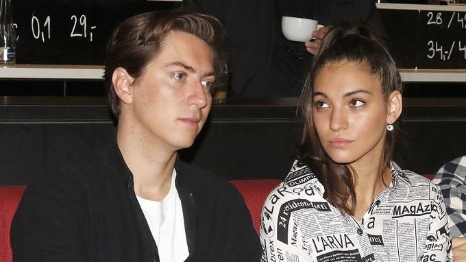 Sára Affašová a její přítel Martin Donutil