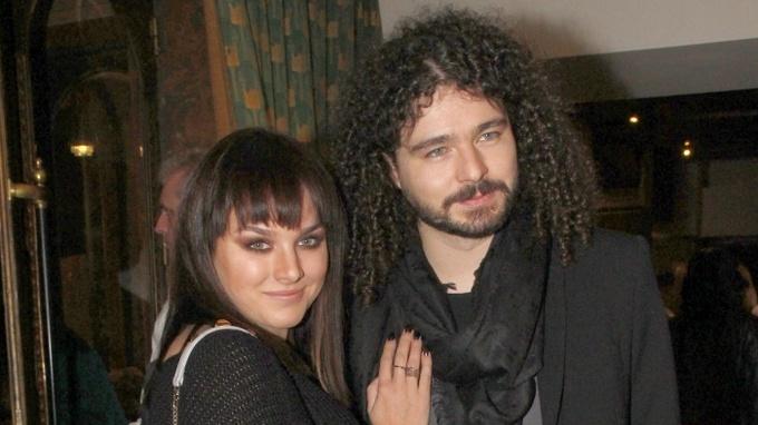Ewa Farna s manželem Martinem Chobotem