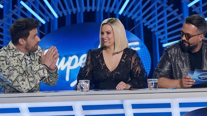 (zleva) Leoš Mareš, Patricie Pagáčová, Marián Čekovský
