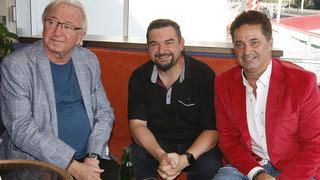 (zleva) Jiří Lábus, Tomáš Magnusek, Martin Dejdar