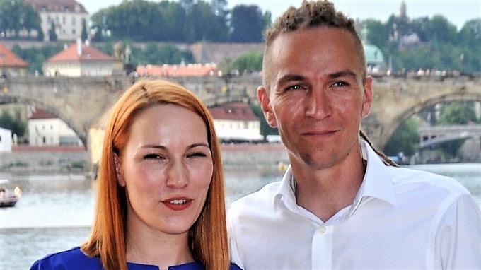 Ivan Bartoš s manželkou Lydií