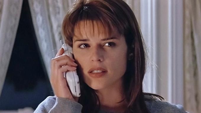 Herečka Neve Campbellová ve filmu Vřískot