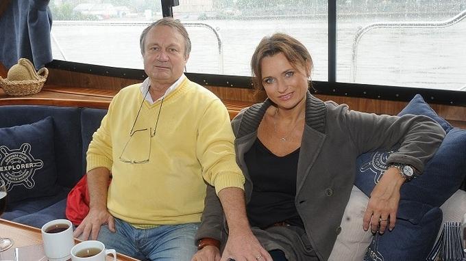 Režisér Jiří Adamec a jeho manželka Jana Adamcová