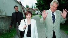 Ivana Zemanová s manželem Milošem Zemanem