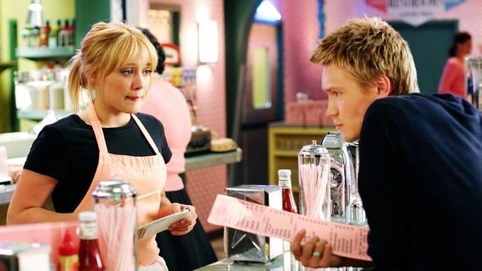 Herečka Hilary Duffová ve filmu Moderní Popelka
