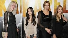 (zleva) Lucie Kovaříková, Charlotte Ella Gottová, Ivana Gottová a Nelly Sofie Gottová