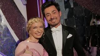 Mirai Navrátil s taneční partnerkou Lenkou Norou Návorkovou
