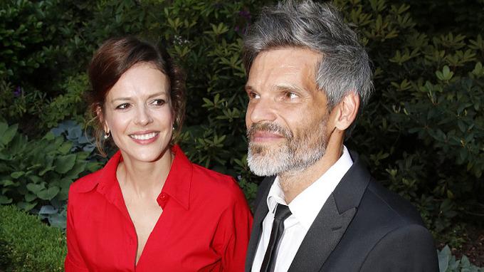 Andrea Růžičková s manželem