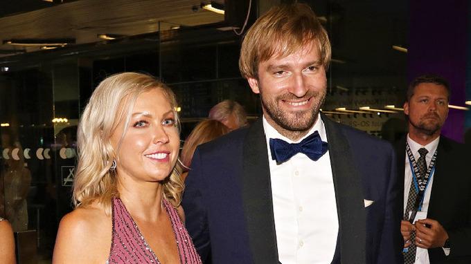 Olga Vojtěchová s manželem