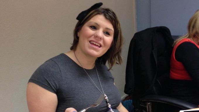 Bonnie Stainerová se v těhotenství přejídala