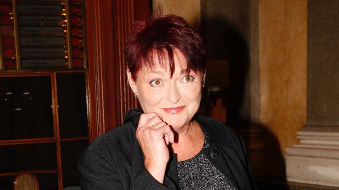Herečka Valérie Zawadská