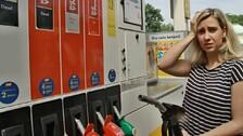 Benzínová pumpa – Ilustrační snímek